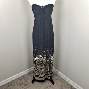 Enfocus  Strapless  Maxi Dress